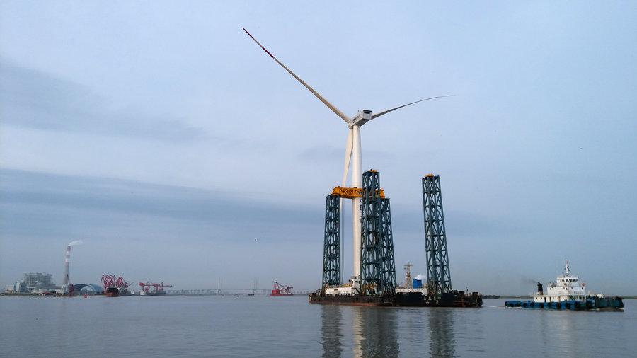 股市热点题材|阳江南鹏岛海上风电开工,风电概念股有这些